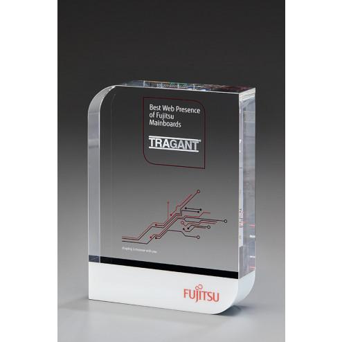 Drop Award mit Druck