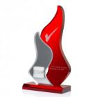 Frozen Flaming Award mit Gravur - awards.at