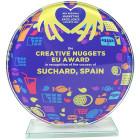 Corona Glas Award vollflächig bedruckt - awards.at