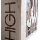 Holz Cubix Plate Award Gravurbeispiele auf Holzaward auf 2 Seiten