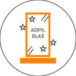 Awards aus Acryl mit Druck oder Gravur